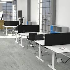 office cube design. flow sit/stand desk | table dividers cube design office e