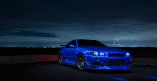 Image result for nissan skyline blue