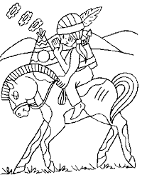 Indian Coloring Pages For S Murderthestout