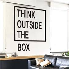 office wall stickers.  Office Office Wall Decal Plus Bathroom Quotes Stickers 3 Think Outside The  Box Decals Bgg With