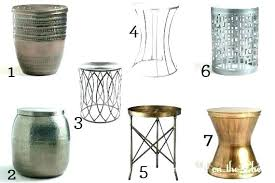 full size of metal outdoor side table for mesh accent tables decorating licious