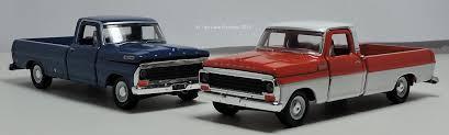 M2 Machines 1967 Mercury M100 and 1969 Ford F100 Pickups | Two Lane ...