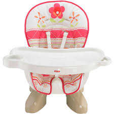 Fisher-Price SpaceSaver High Chair, Sunny Flower - Walmart.com