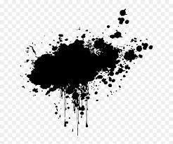 picsart splash color black hd png
