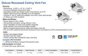 Bathroom ventilation - low cost ceiling exhaust fans