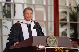 Larry Ellison: 'There is a primal desire to do something important with our  lives' - USC News