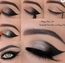 2 ways to apply simple eye makeup 1