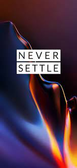 OnePlus 6T Never Settle Mobile Stock ...