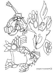 Coloring Pages Pokemon Groudon Primal Wiegraefeco