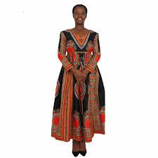 Best Kitenge Dress Designs 2017 Fashion Long Sleeve Deep V Neck Women African Kitenge Dress Designs View African Kitenge Dress Designs Forward Product Details From Yueyang