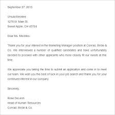 reject letter template sample hr letters rejection granitestateartsmarket com