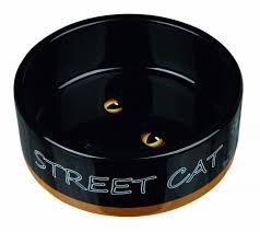 <b>Trixie Миска керамическая</b> Street <b>Cat</b>, 0.3 л/ф 12 см купить по ...