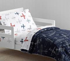 stylish braden airplane toddler quilt pottery barn kids airplane toddler bed set designs