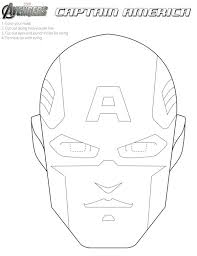 Small Picture Free Avengers Printable Halloween Masks to color Superheroes
