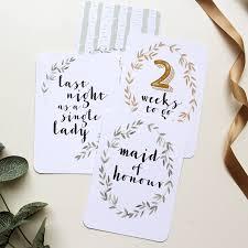 wedding countdown cards by vanilla retro stationery Wedding Countdown Photos wedding countdown cards wedding countdown images