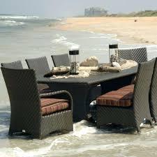 ebel outdoor furniture rectangular woven top dining table ebel portofino outdoor furniture