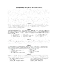 Example Resume Summary Stunning Example Of A Resume Summary Resume Tutorial