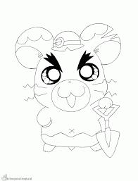 Cute Hamster Kleurplaten Kawaii Hamster Zum Ausmalen Zum Ausmalen De