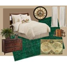 Make The Best Out Of Dark Green Carpet And Turn Your Bedroom Into An