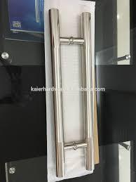 push door handles. H Type Pull Push Door Handle For Tempered Glass Handles N