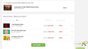 5 kinguin gift card how to choose your free bonus select your chosen bonus at the check out