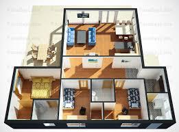 simple floor plans. Astounding Simple 3D Floor Plans Free Home Designs Photos Fiambrelomitocom