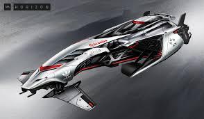 Futuristic Concepts Concept Ships Futuristic Racing Glider Concepts By Vadim Motov