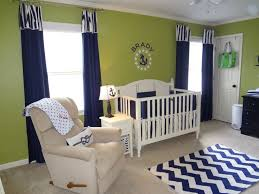 green baby furniture. Green And Navy Nautical Nursery Baby Furniture