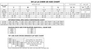 la size apparel size charts