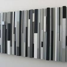modern wood wall art sculpture black white greys silver on white black wall art with custom wall decor and mirrors custommade
