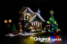 Lego Winter Village Lights Details About Led Lighting Kit For Lego Winter Village Toy Shop 10199