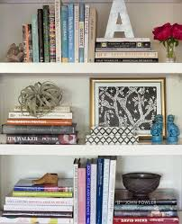 decor bookshelf styling