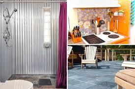 tin shower walls tin shower walls in x in x in piece direct corrugated tin shower
