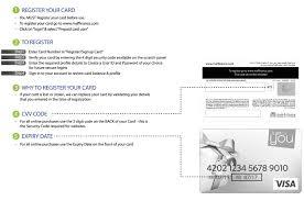card registration