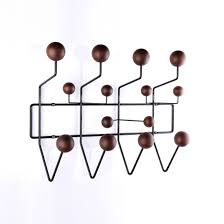 Eames Coat Rack Walnut Hang It All Coat Rack Walnut Coat racks Mid century and Charles 5