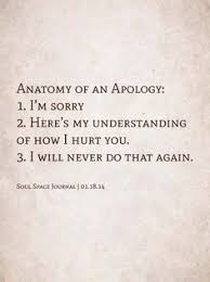 Apologizing Quotes on Pinterest | Sorry Quotes, Lucky Girl Quotes ... via Relatably.com