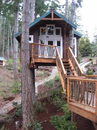 tree house designs. Treehouse In The Backyard-DESIGNRULZ (6) Tree House Designs