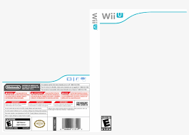 U Template Wii U Template 100036 Wii U Game Cover Template Transparent Png