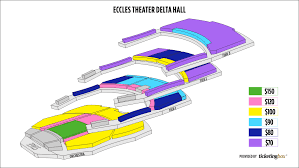 Eccles Theater Seating Chart Related Keywords Suggestions