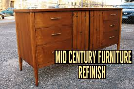 mid century modern furniture restoration. mid century dresser refinish modern furniture restoration a