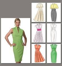 Vogue Patterns Dresses Best Vogue Patterns 48 Misses' Dress