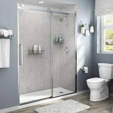 4 piece glue up shower alcove