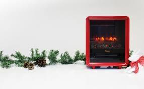 crane electric fireplace heater