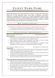 Nursing Resume Objectives resume Example Of A Nursing Resume 83