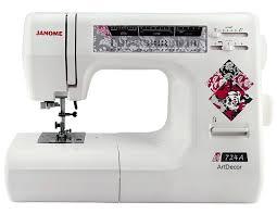 Электромеханическая <b>швейная машина Janome</b> ArtDecor 724A ...