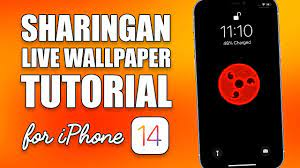 Sharingan Live Wallpaper for iPhone ...