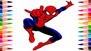 A wide variety of spiderman coloring options are available to you, such as material. Coloring Spiderman Coloring Pages For Kids Painting In Spiderman Coloring Book For Toddlers Youtube
