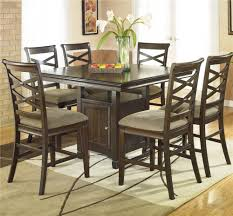 Ashley Furniture Kitchen Chairs Ashley Furniture Hayley Contemporary 7 Piece Dining Set With X