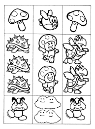 Mushroom Mario Bros Character Wiring Diagram Database