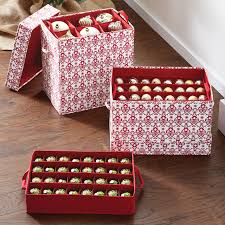 Container Store Ornament Storage